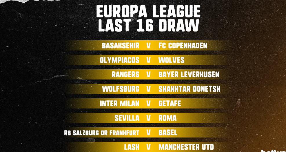 Bong da, bong da hom nay, bốc thăm vòng 1/8 cúp C2, Cúp C2, Europa League, Bốc thăm vòng 1/8 Europa League, Lịch thi đấu bóng đá, lịch thi đấu Cup C2, Lịch thi đấu của MU