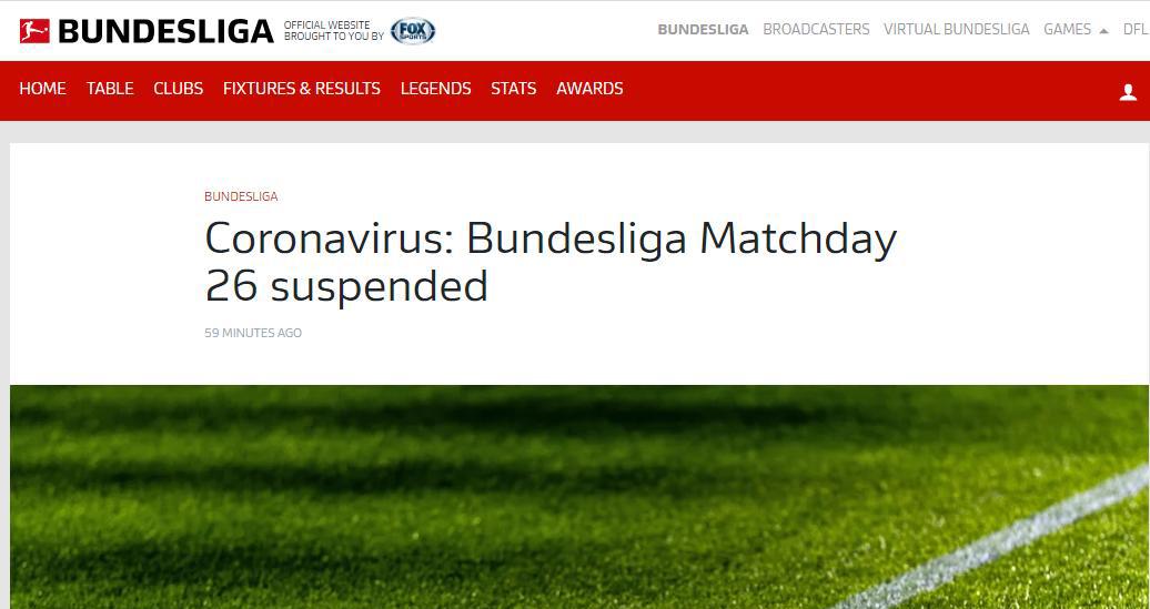 Trực tiếp Covid-19, Các giải bóng đá bị hoãn, Ngoại hạng Anh, Liga, Serie A, covid 19, virus corona, corona, ncov, dịch covid 19, cúp C1, cúp C2, Arteta, Rugani, Ronaldo