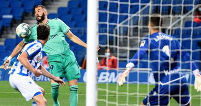 Ket qua bong da, Real Sociedad 1-2 Real Madrid, Video clip bàn thắng Real Madrid, ket qua bong da Tay Ban Nha, kết quả bóng đá La Liga, bảng xếp hạng bóng đá Tây Ban Nha