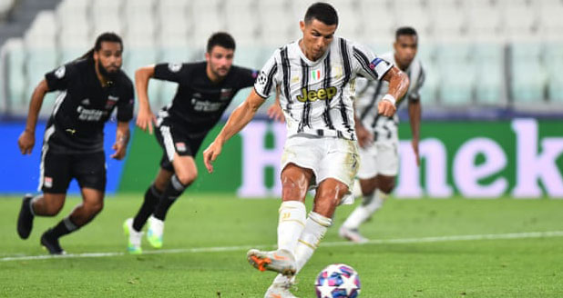 Ket qua bong da, Juventus 2-1 Lyon, Ronaldo lập cú đúp, Juve bị loại, Kết quả C1, kết quả vòng 1/8 cúp C1 châu Âu, kết quả Champions League, kết quả Juve đấu với Lyon