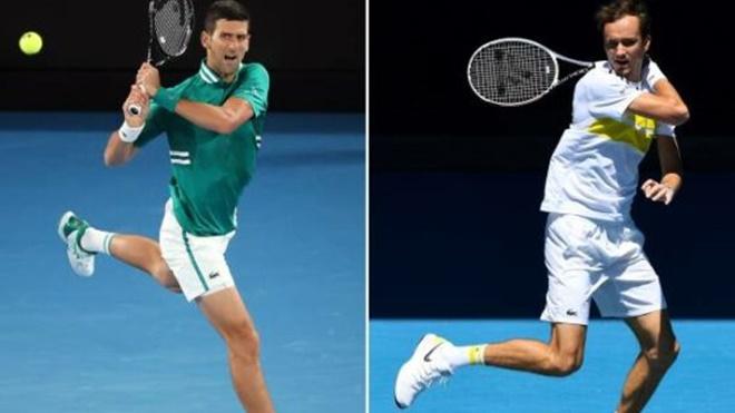 Trực tiếp tennis, Djokovic vs Medvedev, TTTV, FOX Sports trực tiếp Úc mở rộng