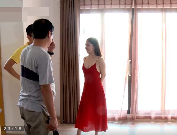 Sinh tử, Sinh tử tập 10, Sinh tử VTV1: Quỳnh Nga bật mí trang phục nóng bỏng cho vai gái ngành cao cấp, Quỳnh Nga, VTV1, vtv1, Sinh tu tap 10, Xem phim Sinh tử VTV1,