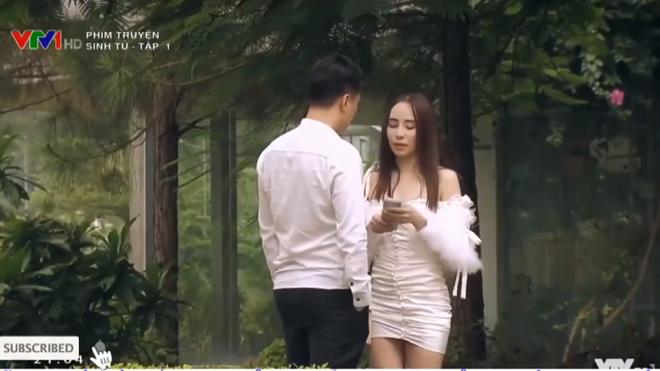 'Sinh tử' VTV1: Quỳnh Nga bật mí phục trang nóng bỏng cho vai 'gái ngành cao cấp'