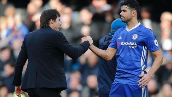 Vì sao Conte tuyên bố loại bỏ Diego Costa khỏi Chelsea?