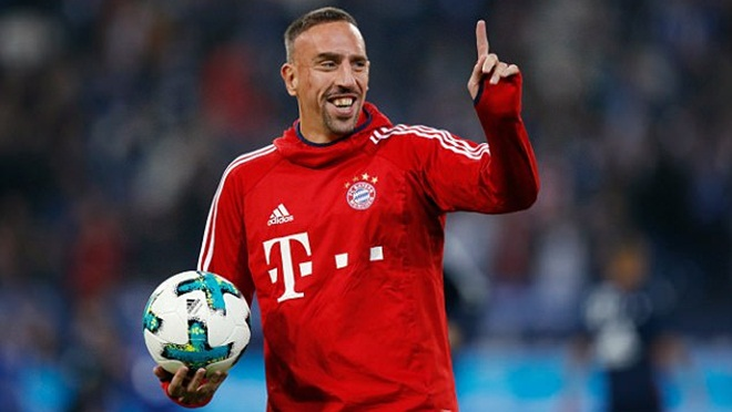 Sir Alex Ferguson 'phán xử' Franck Ribery chỉ sau 45 phút