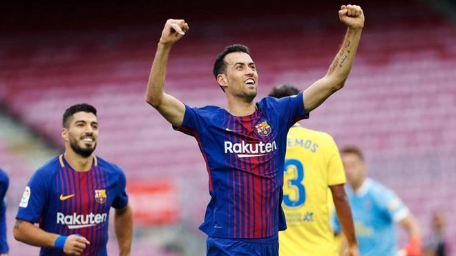 Barca 3-0 Las Palmas: Messi lập cú đúp, Barca xây chắc ngôi đầu