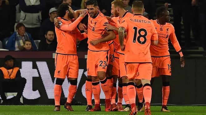 Video clip highlights bàn thắng trận West Ham 1-4 Liverpool