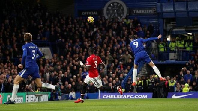 Chelsea 1–0 Man United: Morata tỏa sáng, M.U bị Man City bỏ xa. Conte tạm thoát hiểm