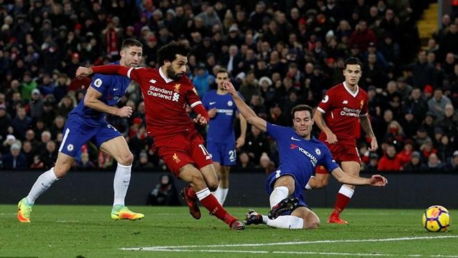 ĐIỂM NHẤN Liverpool 1-1 Chelsea: Salah, Hazard tuyệt hay. 'Tử huyệt' phòng ngự báo hại Liverpool