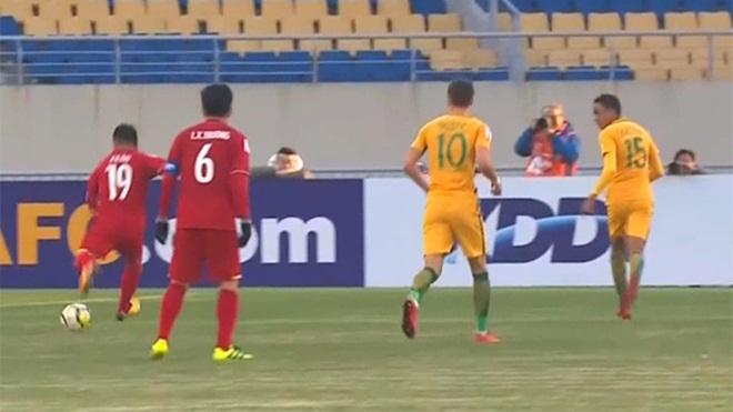 U23 Việt Nam 1-0 U23 Australia: Chiến đấu quả cảm. 'Xe bus 3 tầng' siêu hạng. Quang Hải tuyệt vời!