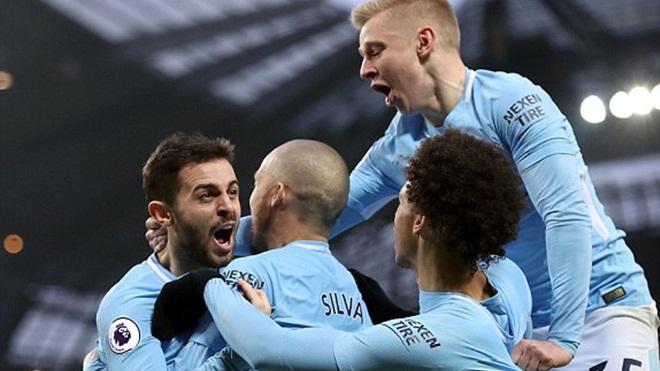 Man City 1-0 Chelsea: Man City sắp vô địch, Conte lâm nguy (KT)