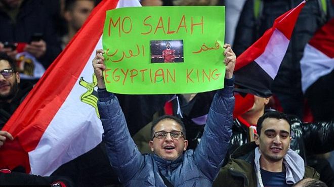 Salah kém gì Messi, Ronaldo! Cả Ai Cập tôn thờ 'Pharaoh' Mohamed Salah