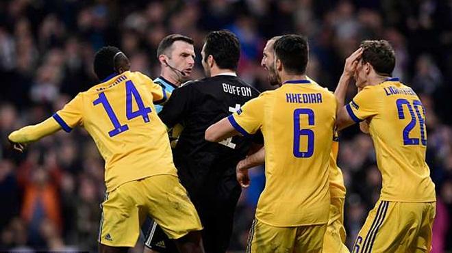Real Madrid 1-3 Juventus: Buffon nói gì nặng nề với trọng tài mà bị đuổi?