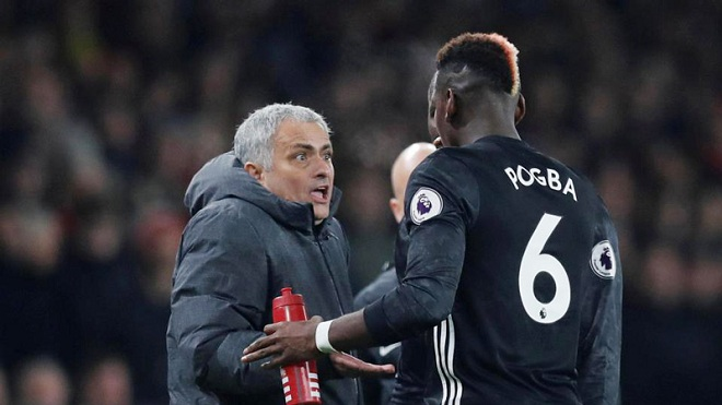 M.U nguy to: Mourinho và Pogba mâu thuẫn đến mức không thể hàn gắn