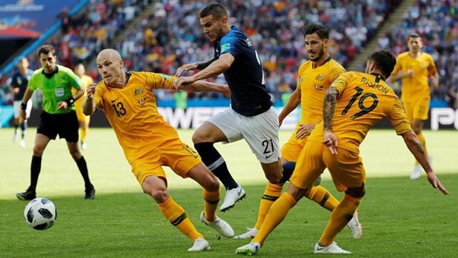 Pháp 2-1 Australia: Pogba tỏa sáng, Pháp vất vả giành 3 điểm