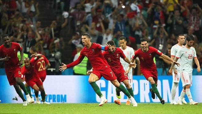 ĐIỂM NHẤN Bồ Đào Nha 3-3 Tây Ban Nha: Ronaldo siêu hạng. Diego Costa quá hay. TBN vẫn mạnh