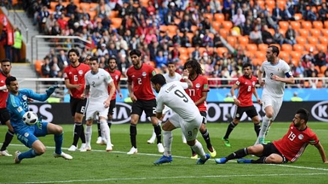 Ai Cập 0-1 Uruguay: Jose Gimenez ghi bàn phút cuối, Uruguay thắng chật vật