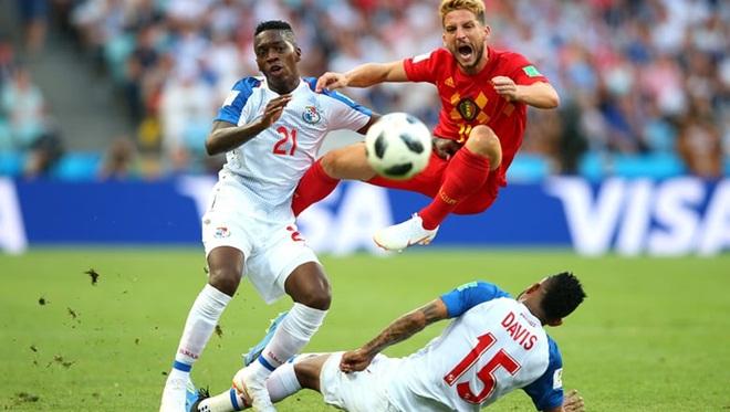 Bỉ 3-0 Panama: Lukaku lập cú đúp, Bỉ thắng đậm trận ra quân