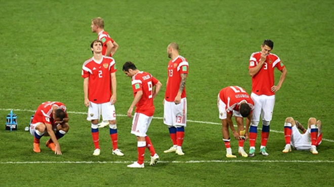 Tổng thống Putin tự hào về tuyển Nga, ca ngợi các tuyển thủ là những người hùng