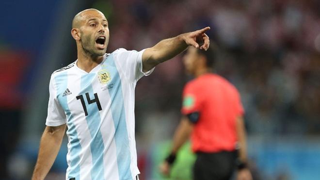 Mascherano là điểm yếu chí mạng nhưng không thể thay thế của Argentina