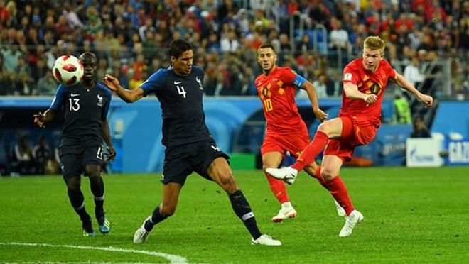 ĐIỂM NHẤN Pháp 1-0 Bỉ: Cú đấm từ hàng thủ. Deschamps tiệm cận vinh quang