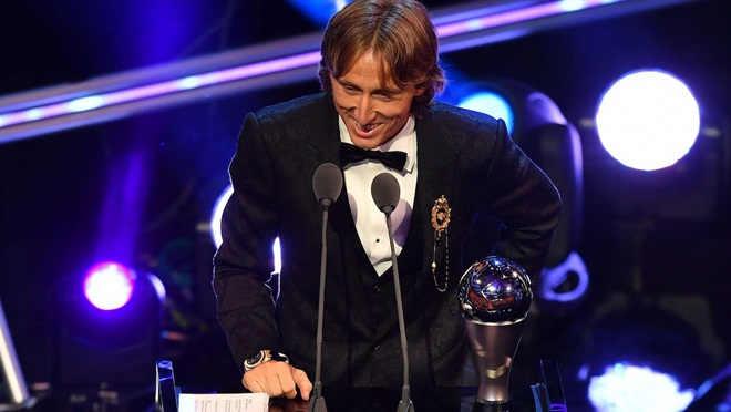 Luka Modric giành giải The Best 2018: Không cao nhưng cả thế giới phải ngước nhìn