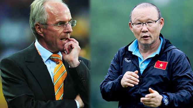 Sven Goran Eriksson và Park Hang Seo: Một trời khác biệt
