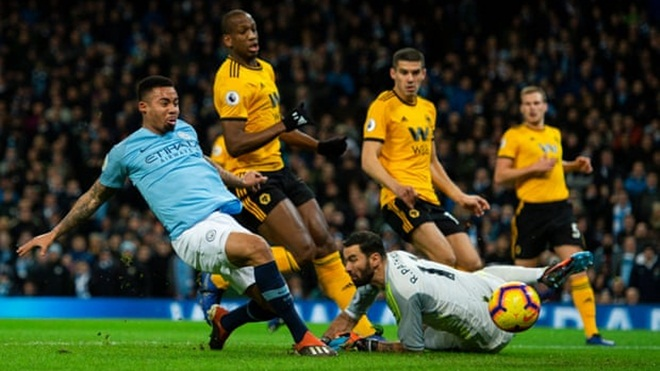 VIDEO Man City 3-0 Wolves: Ngày của Gabriel Jesus