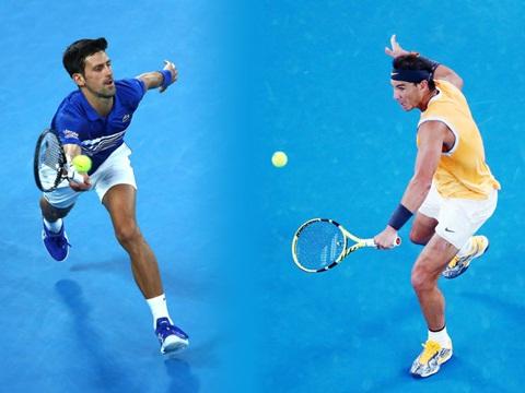 Lịch thi đấu Úc mở rộng, lịch thi đấu Australian Open, trực tiếp Djokovic vs Nadal, trực tiếp Fox Sports, Fox Sports 2, Djokovic, Nadal, đối đầu Djokovic vs Nadal