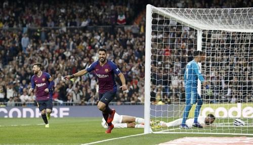 Real Madrid, Barcelona, Barca, Real Madrid 0-3 Barca, Suarez, Messi, siêu kinh điển, el clasico, video real 0-3 barca, kết quả siêu kinh điển, kết quả bóng đá tây ban nha