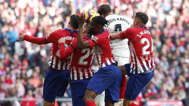 Atletico 1-3 Real Madrid: Thắng derby Madrid, Real lên nhì bảng (KT)
