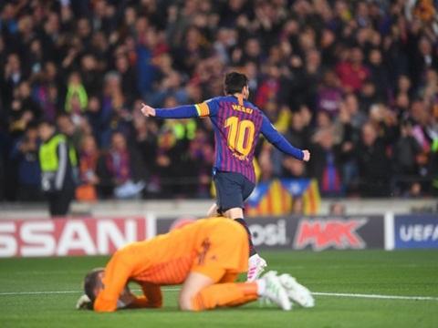Barcelona 3-0 MU, Barca vs MU, kết quả Barca vs MU, video Barca 3-0 MU, tỷ số Barca vs MU, kết quả tứ kết cúp C1, De Gea, Messi, Pogba, Ole Solskjaer, Coutinho, MU, Barca