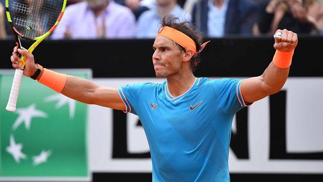 Đánh bại Djokovic, Nadal lần thứ 9 vô địch Rome Masters. Một kỷ lục!