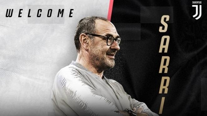Juventus CHÍNH THỨC bổ nhiệm Maurizio Sarri làm HLV