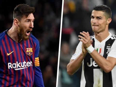 Siêu máy tính so sánh chính xác tuyệt đối giữa Messi và Ronaldo, kết quả thế nào?