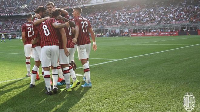 Bong da, bóng đá, lich thi dau bong da hom nay, kết quả bóng đá, ket qua bong da, Milan vs Brescia, video Milan 1-0 Brescia, Milan 1-0 Brescia, Serie A, BXH Serie A