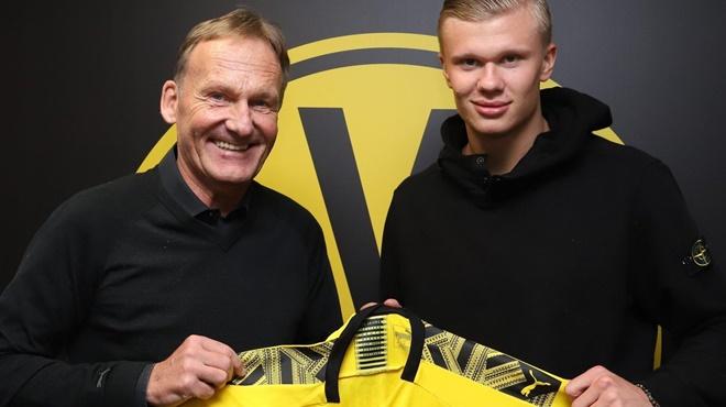 Erling Haaland chính thức gia nhập Dortmund, hợp đồng tới 2024