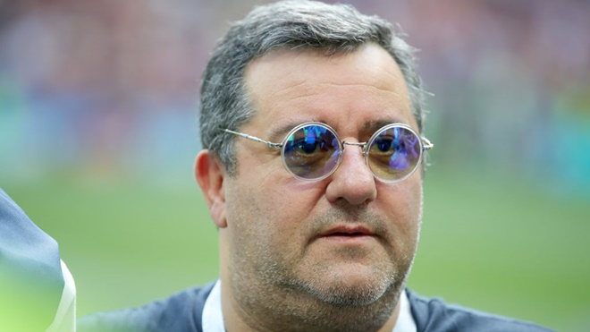 Siêu cò Mino Raiola: Vấn đề của Pogba là MU. Pele, Maradona cũng 'toang' nếu đến MU