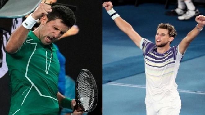 Trực tiếp chung kết Úc mở rộng, Djokovic vs Dominic Thiem: Cuộc chiến sinh tử. TTTV trực tiếp