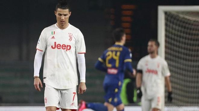 Verona 2-1 Juventus: Ronaldo ghi bàn, Juve vẫn thua sốc