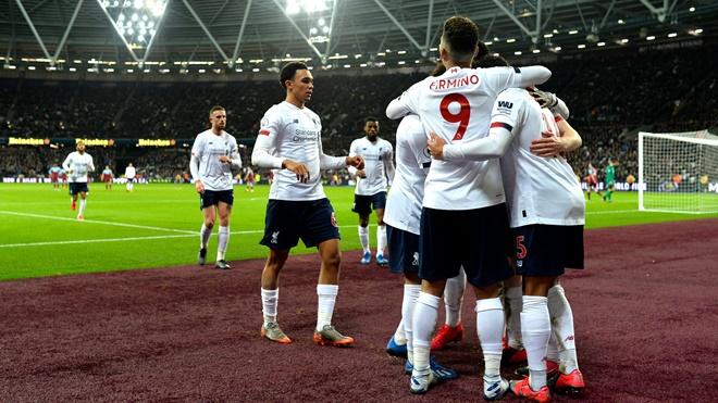 Ket qua bong da, kết quả đá bù Ngoại hạng Anh, West Ham vs Liverpool, video West Ham 0-2 Liverpool, bảng xếp hạng Ngoại hạng Anh, kết quả bóng đá, Salah, bong da, bóng đá