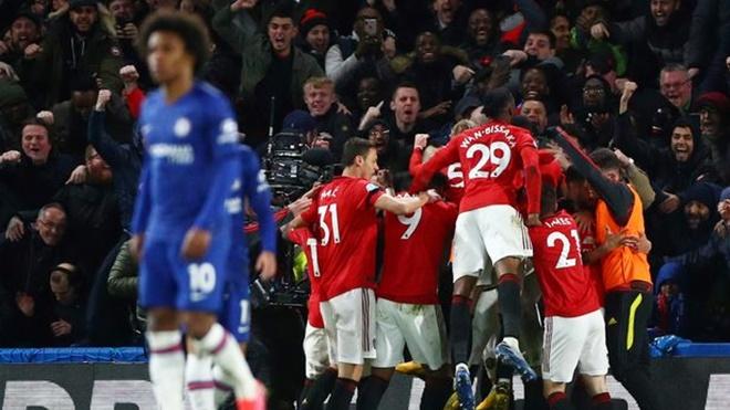 ket qua bong da hôm nay, kết quả bóng đá, Chelsea 0-2 MU, kết quả Chelsea vs MU, bảng xếp hạng ngoại hạng Anh, MU, truc tiep bong da hôm nay, trực tiếp bóng đá, Maguire