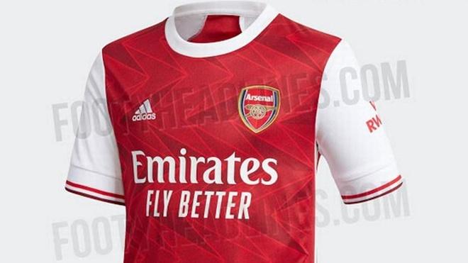 Mẫu áo mùa tới của Arsenal bị fan chê tơi bời