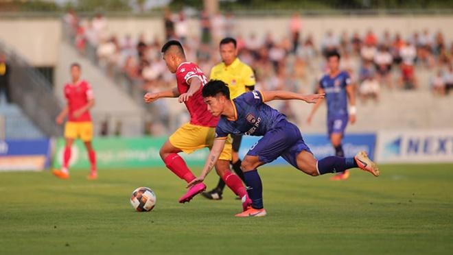 Ket qua bong da, Hà Nội 0-1 Sài Gòn, Thanh Hóa 2-0 Quảng Ninh, bóng đá Việt Nam, Kết quả bóng đá Việt Nam, Ket qua V-league, Nam Định 3-0 SLNA, Bảng xếp hạng Vleague