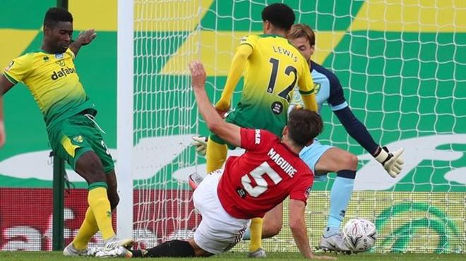 ĐIỂM NHẤN Norwich 1-2 MU: Maguire, Ighalo ghi điểm, MU vẫn gặp khó trước đội yếu