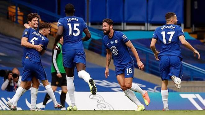 Chelsea 2-0 Wolves:  Mason Mount rực sáng, Chelsea trụ lại top 4, dự cúp C1