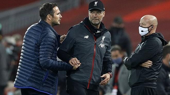 Ket qua bong da, Liverpool vs Chelsea, Lampard, Liverpool ăn mừng quá ngạo mạn, Liverpool 5-3 Chelsea, Bảng xếp hạng bóng đá Anh, Liverpool ăn mừng, Chelsea, Top 4, Kqbd