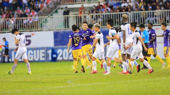 Ket qua bong da, HAGL vs Hà Nội, Kết quả V-League, Bảng xếp hạng V-League 2020, BXH V-League, kết quả HAGL vs Hà Nội, kết quả HAGL đấu với Hà Nội, cuộc đua vô địch, kqbd