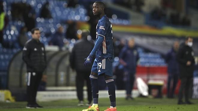 Nicolas Pepe xin lỗi đồng đội và người hâm mộ Arsenal