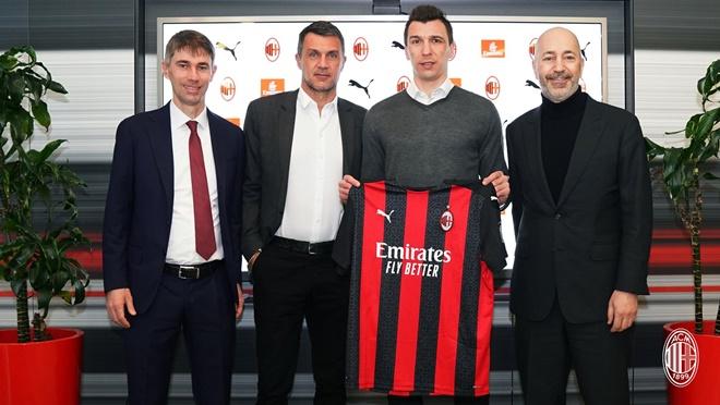 Milan chính thức chiêu mộ Mandzukic, quyết giành Scudetto